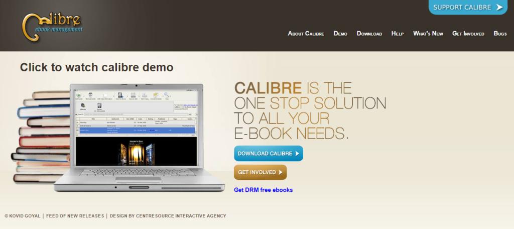 Calibre ebooks conversão