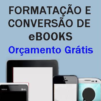 serviços de conversão e formatação ebooks
