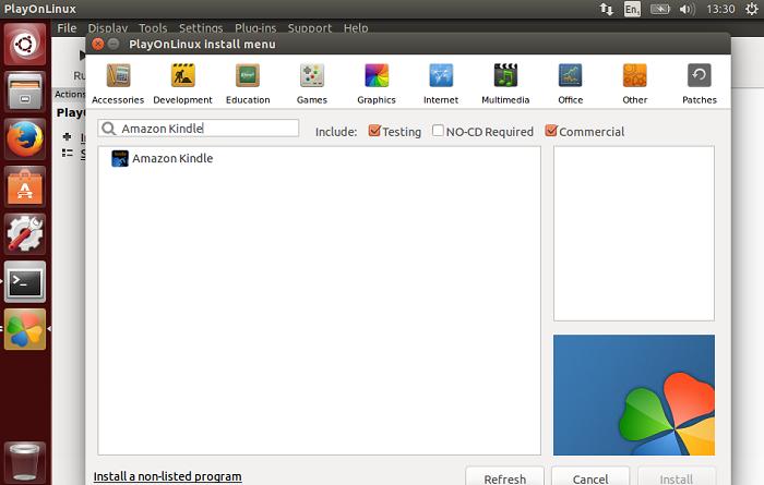 Como instalar o Kindle no Ubuntu 14 04   Como Publicar eBooks na Amazon
