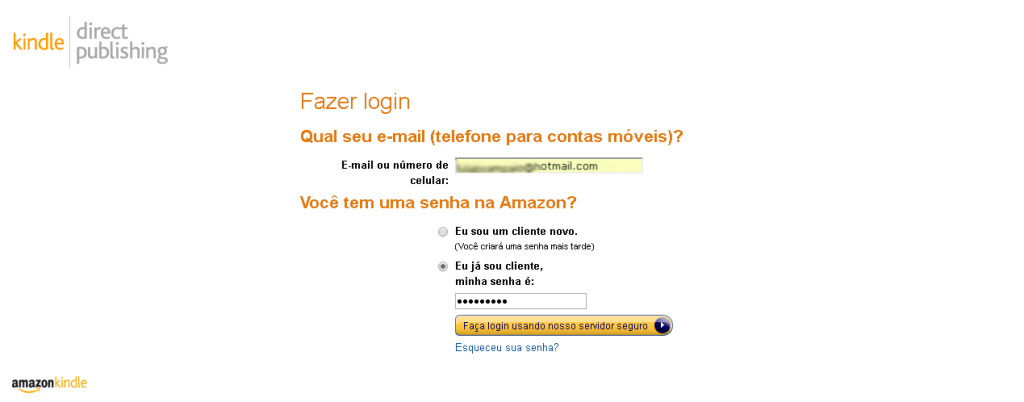 ebooks na Amazon