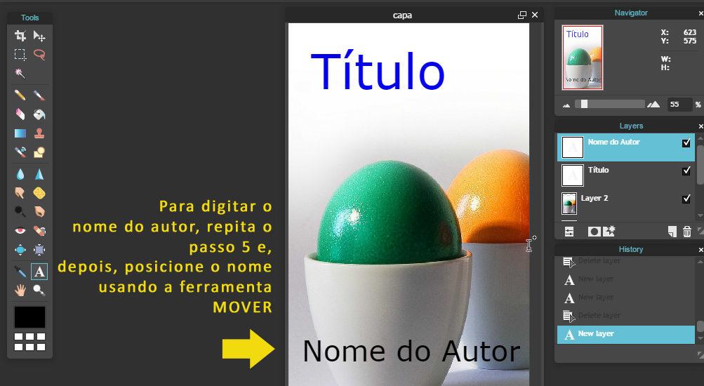 capas para ebooks na Amazon