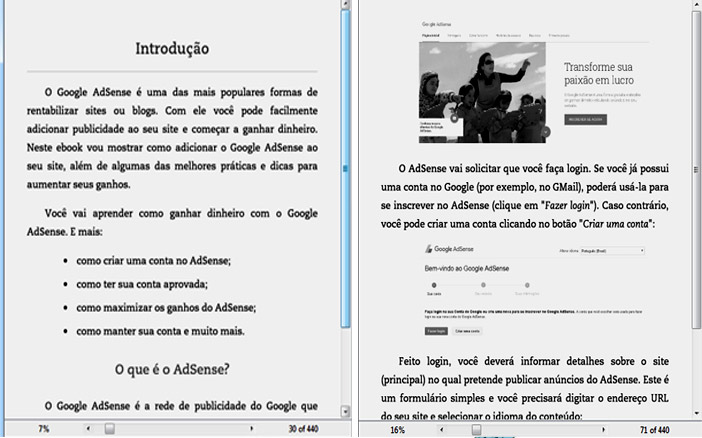 ebook de layout fluido