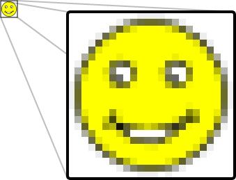 imagem em bitmap para ebooks